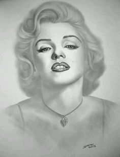 Pencil drawing o f Merilin Monroe Marilyn Monroe Drawing, Marilyn Monroe Portrait, Pencil Art, Pencil Drawings, What To Draw, Amazing Drawings, Celebrity Portraits, Norma Jean, Drawing People