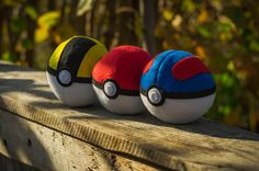 pokéballs  pokémon go by themimiclothingshop on Etsy