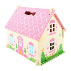 Bigjigs Toys JT123 Heritage Playset Blossom Cottage: