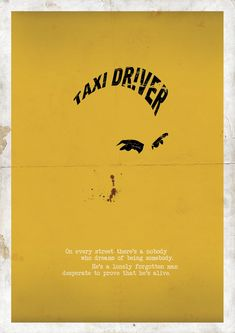 Taxi Driver - by Me, Myself and I