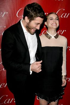 These Surprising Red-Carpet BFFs Will Melt Your Heart #refinery29  http://www.refinery29.com/2013/06/48284/celebrity-best-friends#slide5  Natalie Portman & Jake Gyllenhaal Natalie really didn't want to lose it at Jake's joke, but when he started to laugh, she couldn't handle it anymore. This, folks, is what it means to have a good time.