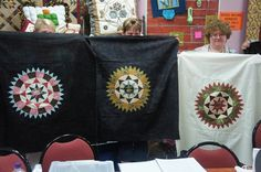 Rosings at Pioneer Patchwork Quilt Shops, New York Beauty, Medallion Quilt, Applique, Quilts, Mini, Blog, Scrappy Quilts, Quilt Sets
