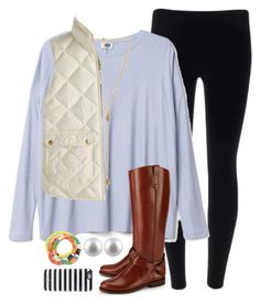 """""""fall fever"""" by emmig02 ❤ liked on Polyvore featuring Ettika, J.Crew, Kate Spade, Tory Burch, Splendid Pearls, women's clothing, women's fashion, women, female and woman"""