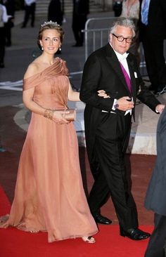 Belgium's Prince Laurent and Princess Claire