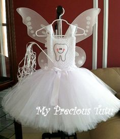 Tooth Fairy Tutu Dress - pinned by pin4etsy.com