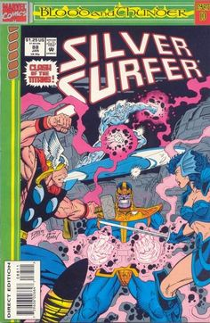 Silver Surfer Vol. 3 # 88 by Ron Lim & Keith Aiken