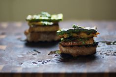 Grilled Tempeh Sandwiches
