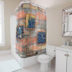 Shop Silhouetted Wetland Bird Shower Curtain created by AlanKWhite. Bird Shower Curtain, Modern Bathroom Decor, Curtains, Flooring, Design, Blinds, Wood Flooring, Draping