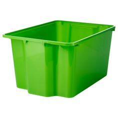 IKEA - GLES, Box, Perfect for sports equipment, gardening tools or laundry and cleaning accessories.Stacks to save space when not in use.Easy to lift and carry as the box has recessed handles on two sides.