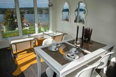 """Birch & Beauty: the Kennebecasis House - a """"Before & After"""" residential makeover. Mexico Vacation, Brown Beige, Table Settings, Interiors, Interior Design, Studio, Photography, House, Interior Design Studio"""