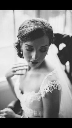 We love a Vintage Bridal Updo! Hair by Tamara Artnak|Pittsburgh