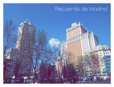 Plaza de España es mi motivo favorito.