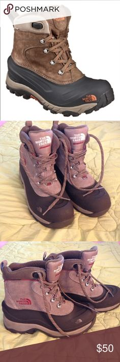 The North Face Men's Chilkat Hiking Boots EUC Men's The North Face Chilkat Hiking boots. Size 8.5 weather proof maybe worn twice. The North Face Shoes Rain & Snow Boots