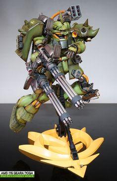 Custom Build: MG 1/100 AMS-119 Geara Doga - Gundam Kits Collection News and Reviews