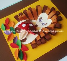 ДЕТСКИЕ ПОДЕЛКИ Halloween Crafts For Toddlers, Autumn Activities For Kids, Fall Crafts For Kids, Toddler Crafts, Projects For Kids, Art For Kids, Fall Paper Crafts, Autumn Crafts, Easter Crafts