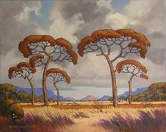 Landscape Structure, Bonsai Art, South African Artists, Game Reserve, Photo Tree, Stone Mosaic, African History, Tree Art, Van Gogh