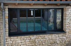 Fenêtre aluminium atelier