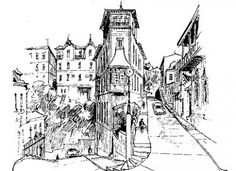 renzo pecchenino raggi - Buscar con Google Surrealism, Chile, Cathedral, Building, Travel, Watercolors, Google, Sofa, Drawings