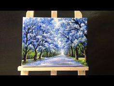 pintando hortênsias - com Escudeiro - YouTube