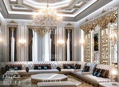 Majlis Interior Design | Women Majlis Interior Designs by Algedra