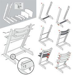 Tripp trapp Assembly Contents