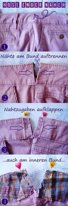 Manchmal handelt es sich nur um einige Millimeter, die den Sitz einer guten Hose (oder auch Rock) ausmachen. Wenn ich mir Hosen von der Sta...