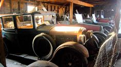 An Oregon ghost town's abandoned car museum
