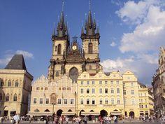 Česko, Praha - Staroměstské náměstí - Týnsky chrám