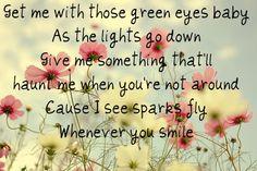 Sparks Fly ~ Taylor Swift http://lovejennyxoxo.blogspot.com/2010/11/sparks-fly-taylor-swift.html