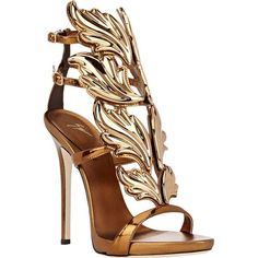 """Giuseppe Zanotti """"Cruel Summer"""" Sandals ($1,595) ❤ liked on Polyvore featuring shoes, sandals, heels, giuseppe zanotti, colorless, leather sole shoes, leather ankle strap sandals, heeled sandals, platform heel sandals and giuseppe zanotti sandals"""