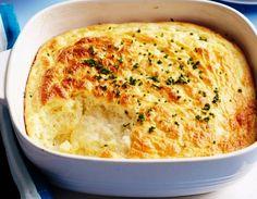 Αυτή είναι η συνταγή για το πιο εύκολο σουφλέ με τυριά