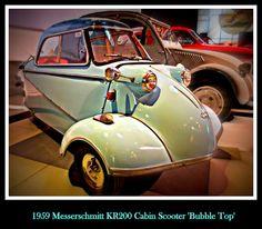 1939 Messerschmitt KR200 Cabin Scooter 'Bubble Top'