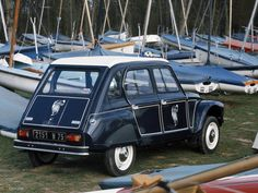 1977 Citroen Dyane Caban my other blogs: www.german-cars-after-1945.tumblr.com & www.japanesecarssince1946.tumblr.com