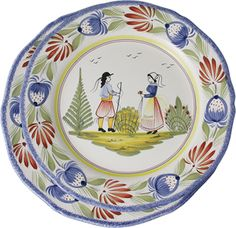 H B Henriot faience - love these