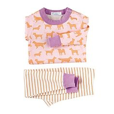 23aba4f11d Hanna Andersson Long Johns – Tangerine Puppies  serenaandlily Kids Pajamas