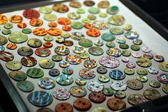 homemade buttons!