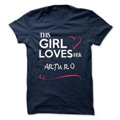 This Girl Love ARTURO T Shirts, Hoodies. Check price ==► https://www.sunfrog.com/Names/This-Girl-Love-ARTURO.html?41382 $22.9