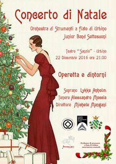 Urbino il 22 dicembre al Teatro Sanzio il tradizionale concerto di Natale