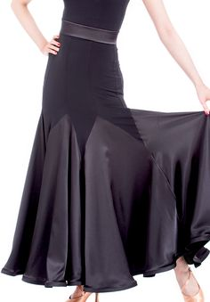 DSI Sofia Ballroom Dance Skirt 3437 | Dancesport Fashion @ DanceShopper.com