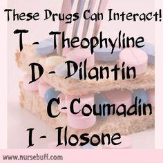50 Nursing Mnemonics and Acronyms (Pharmacology): http://www.nursebuff.com/chronic-diseases-nursing-mnemonics/