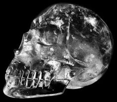 Ancient Crystal Skull  Origin: Peru  Name: Synergy  An extremely close copy to a human skull