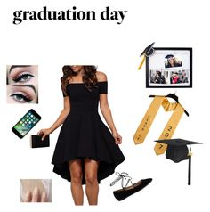 """let's graduate"" by timeea-corjuc on Polyvore featuring New View and Gianvito Rossi"
