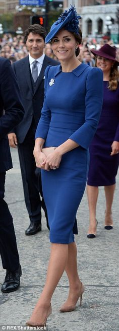 Kate in Canada in 2016