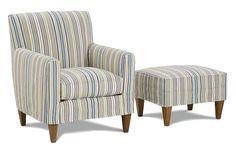 Ellery Slipcover Chair - Rowe Furniture