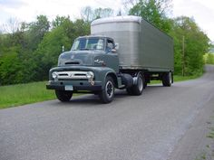 1953 Ford COE C-750 Big Job -