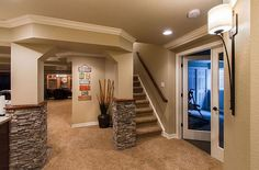 Basement Finishing Ideas for a Great Home: Modern Basement Designs Ideas And Gym Room – WXkaima