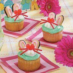 Bunny Cupcakes Recipe - Holidays