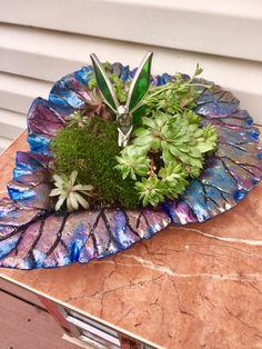 Leaf planter by Barbara H