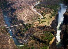 Victoria Falls Bridge, Zambia   Photo by Harriet Andronikides