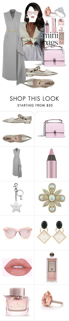 """la mas hermosa"" by floo-carriillo ❤ liked on Polyvore featuring Giorgio Armani, Fendi, Alexander McQueen, Urban Decay, Aspinal of London, Ciner, Karen Walker, Marni, Serge Lutens and Burberry"